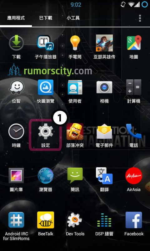 How to Change Operating System wit Cool X5 From Chinese Android to English (or vice versa)