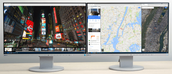 How to Project Onto a Bigger Monitor